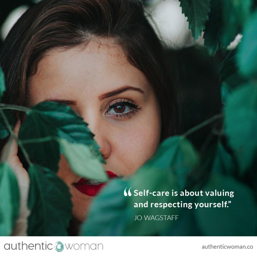 Authentic woman looking out with compassion