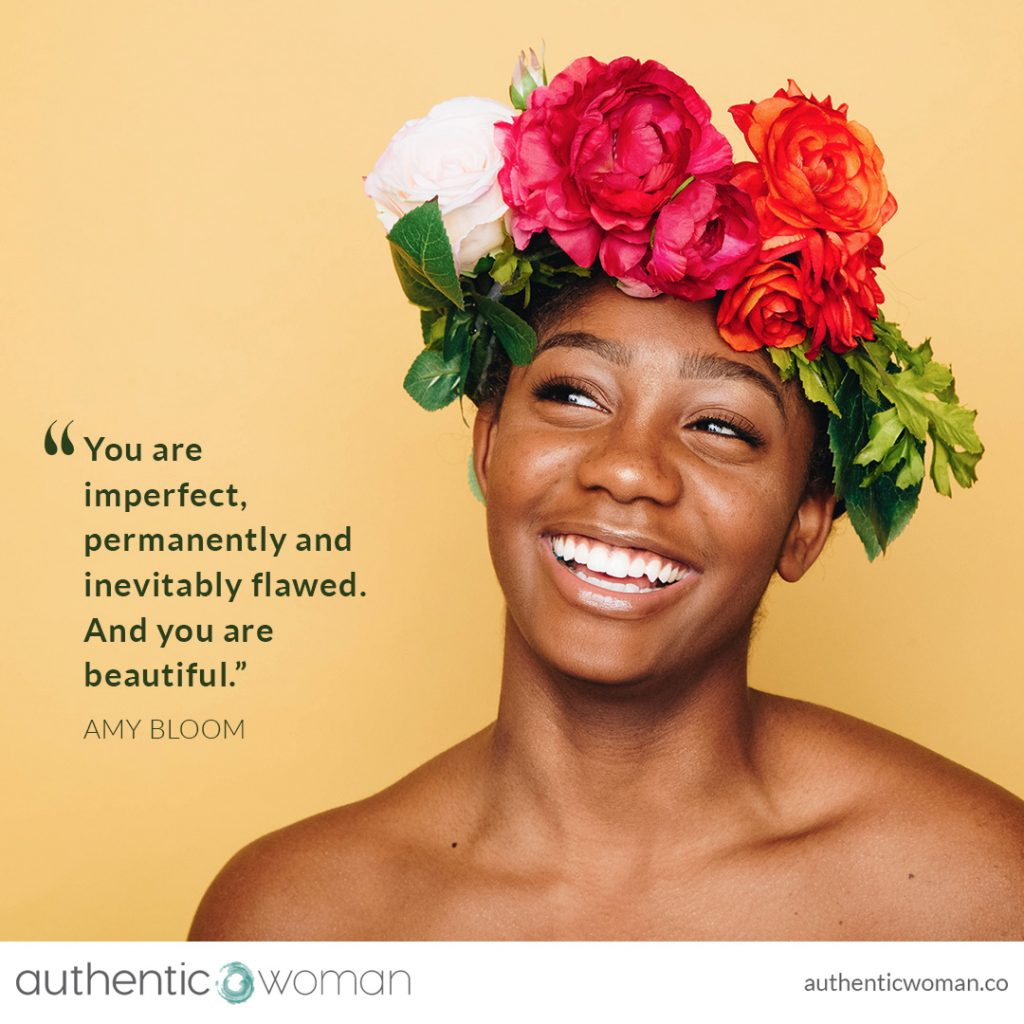 Authentic empowered conscious woman